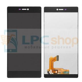 Дисплей для Huawei P8 в сборе с тачскрином Черный