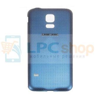 Крышка(задняя) Samsung G800/S5 Mini Синий
