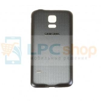 Крышка(задняя) Samsung G800/S5 Mini Черный