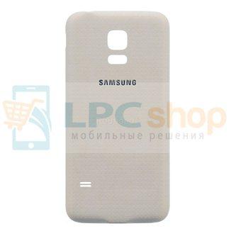 Крышка(задняя) Samsung G800/S5 Mini Белый