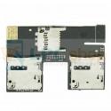 Шлейф SIM-Карты HTC Desire 500 Dual и на разъем MicroSD 51H20565