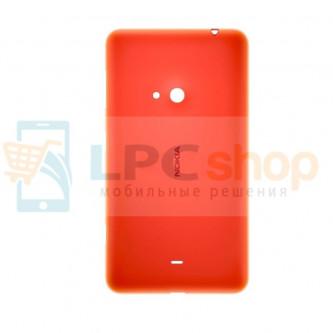 Крышка(задняя) Nokia Lumia 625 Красная