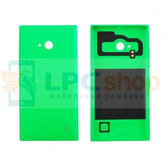Крышка(задняя) Nokia Lumia 730 Dual/735 Зеленый