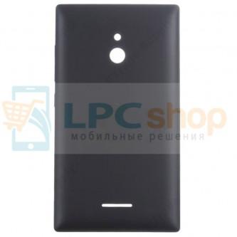 Задняя Крышка Nokia XL Dual RM-1030 Чёрная