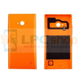 Крышка(задняя) Nokia Lumia 730 Dual/735 Оранжевый