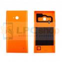 Крышка(задняя) Nokia Lumia 730 Dual (RM-1040) / 735 (RM-1038) Оранжевая - без QI
