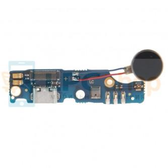 Шлейф разъёма зарядки Meizu M2 Note плата вибромотор и микрофон
