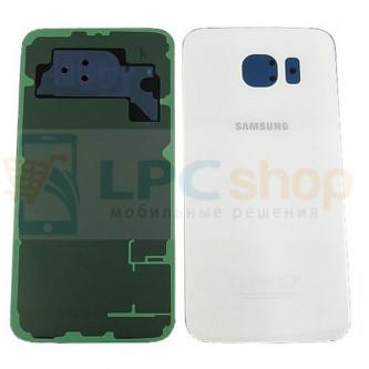 Крышка(задняя) Samsung Galaxy S6 G920F Белый