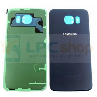 Крышка(задняя) Samsung Galaxy S6 G920F Синий