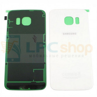 Крышка(задняя) Samsung Galaxy S6 Edge G925F Edge Белый