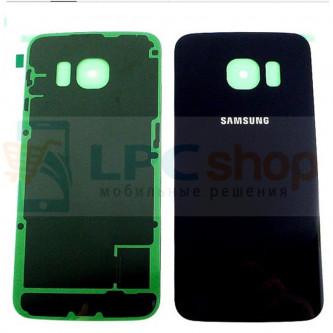 Крышка(задняя) Samsung Galaxy S6 Edge G925F Edge Черный