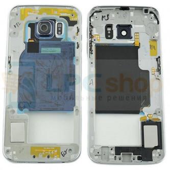 Корпус (средняя часть) Samsung Galaxy S6 Edge G925F Черный