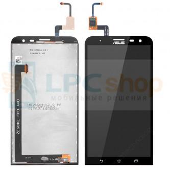 Дисплей для Asus ZenFone 2 Laser (ZE601KL) в сборе с тачскрином Черный