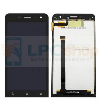 Дисплей для Asus ZenFone 5 Lite (A502CG) в сборе с тачскрином Черный