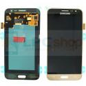 Дисплей Samsung Galaxy J3 (2016) J320F в сборе с тачскрином Золото - Оригинал