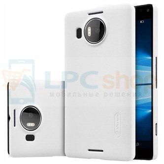 "Чехол накладка Nillkin ""Frosted"" для Microsoft Lumia 950 XL Dual (RM-1116) - Белый"