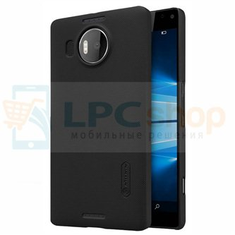 "Чехол накладка Nillkin ""Frosted"" для Microsoft Lumia 950 XL Dual (RM-1116) - Черный"