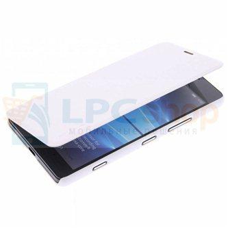 "Чехол-книжка Nillkin ""Sparkle"" для Microsoft Lumia 950 Dual (RM-1118) - Белый"