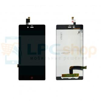 Дисплей для ZTE Nubia Z9 Mini в сборе с тачскрином Черный