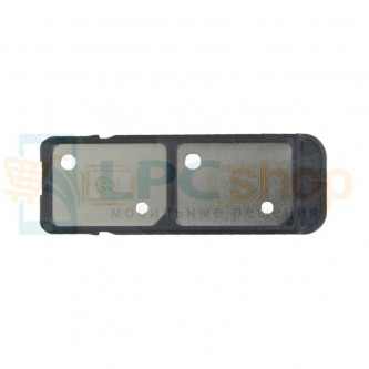 Лоток SIM Sony Xperia C5 Ultra Dual E5533 Черный