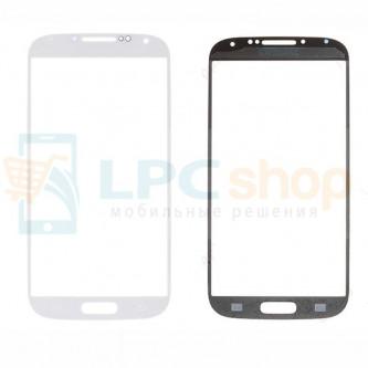 Стекло (для переклейки) Samsung Galaxy S4 I9500 / i9505 LTE Белое