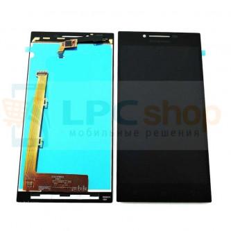 Дисплей для Lenovo P70 в сборе с тачскрином Черный
