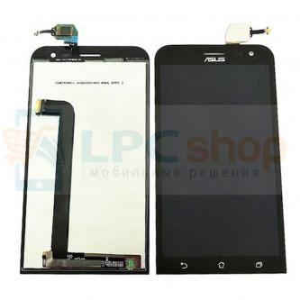 Дисплей для Asus ZenFone 2 (ZE550ML) в сборе с тачскрином Черный