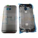 Крышка(задняя) HTC One M8 / One M8 Dual Серая