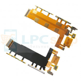 Шлейф Sony Xperia Z3 D6603 / D6616 / D6653 на кнопки громкости и включения, камеры, микрофона и вибромотора