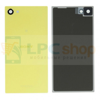 Крышка(задняя) Sony Xperia Z5 Compact E5823 Желтый