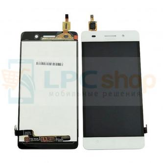 Дисплей для Huawei Honor 4C в сборе с тачскрином Белый