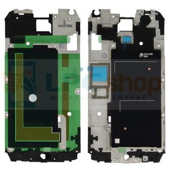 Рамка дисплея для Samsung Galaxy S5 G900F Черная