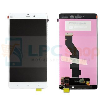 Дисплей для Xiaomi Mi Note Pro в сборе с тачскрином Белый