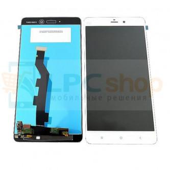 Дисплей для Xiaomi Mi Note в сборе с тачскрином Белый