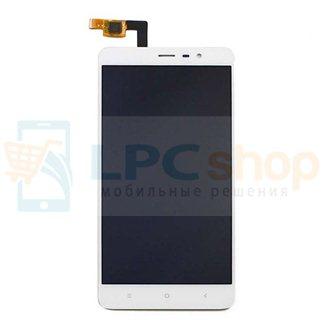 Дисплей для Xiaomi Redmi Note 3 в сборе с тачскрином Белый