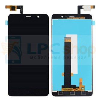 Дисплей для Xiaomi Redmi Note 3 в сборе с тачскрином Черный