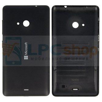 Крышка(задняя) Microsoft Lumia 535 Dual (RM-1090) Черный
