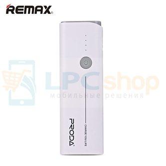 Дополнительный аккумулятор (Power Bank) Remax Proda Jane 10000 mAh (2 USB 1000/1500 mAh) белый (PR1-014)