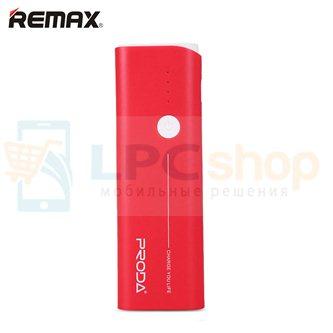 Дополнительный аккумулятор (Power Bank) Remax Proda Jane 10000 mAh (2 USB 1000/1500 mAh) красный (PR1-014)