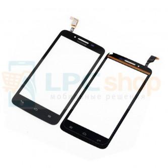 Тачскрин (сенсор) для Huawei Ascend Y511 Черный