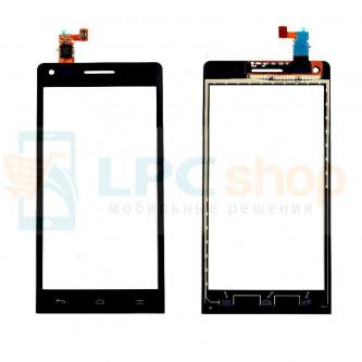 Тачскрин (сенсор) для Huawei Ascend G6 Черный