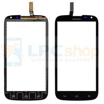 Тачскрин (сенсор) для Huawei Ascend G610 Черный