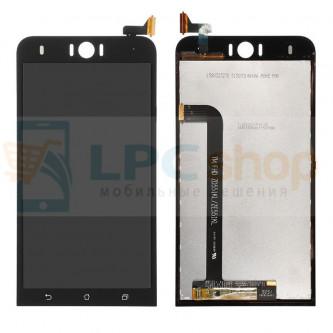 Дисплей для Asus ZenFone Selfie (ZD551KL) в сборе с тачскрином Черный