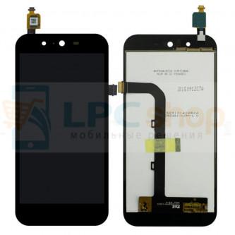 Дисплей для Asus ZenFone Live (G500TG) в сборе с тачскрином Черный