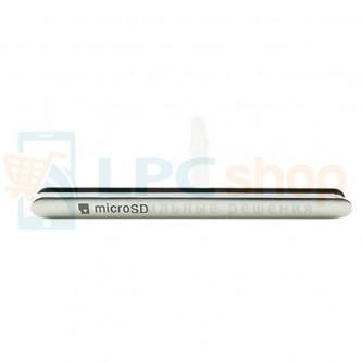Заглушка для SIM и MicroSD Sony Xperia M5 E5603 / M5 Dual E5633 Серебро