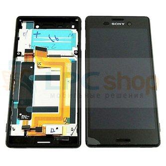 Дисплей для Sony Xperia M4 Aqua ( E2303 ) модуль Черный - Оригинал