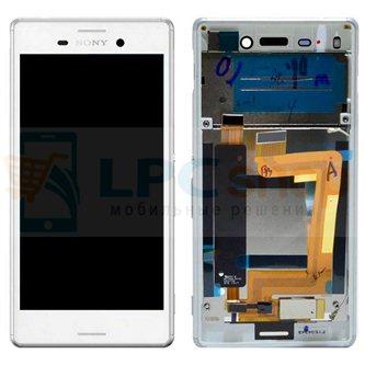 Дисплей для Sony Xperia M4 Aqua Dual ( E2312 ) модуль Белый - Оригинал