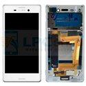 Дисплей для Sony Xperia M4 Aqua Dual ( E2312 ) в сборе с рамкой Белый - Оригинал