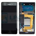 Дисплей для Sony Xperia M4 Aqua Dual ( E2312 ) в сборе с рамкой Черный - Оригинал