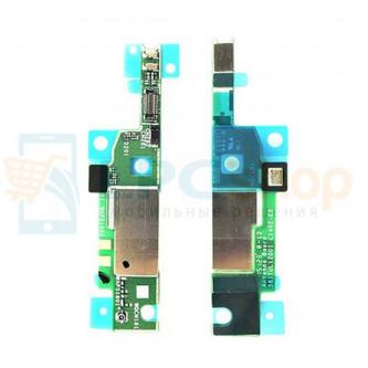 Шлейф Sony Xperia M4 Aqua ( E2303/E2312/E2333 ) плата в сборе с микрофоном и антенной